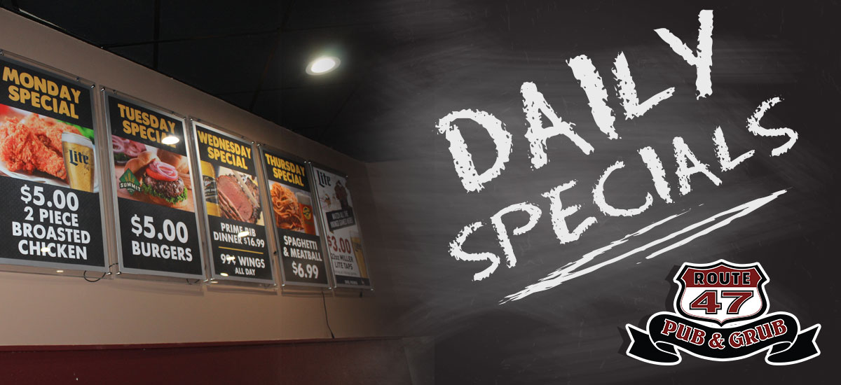 Food Special Deals near Fridley