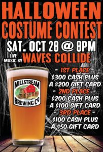 Halloween Costume Contest - Live Music By Waves Collide