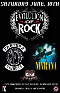 Evolution of Rock: Featuring Cowboys From Hell and Nivrana