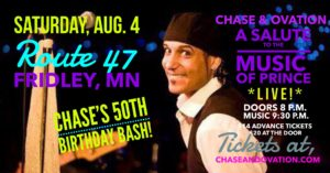 THEE PRINCE TRIBUTE! LIVE! ON Chase's 50th!