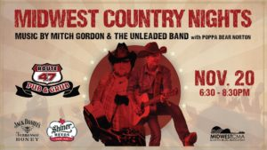 Midwest Country Nights Mitch Gordon w/Poppa Bear Norton