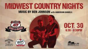 Midwest Country Nights - Ben Johnson w/ Anderson Daniels