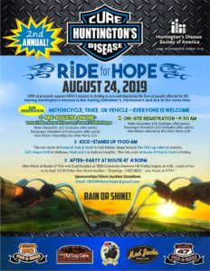 HSDA Ride For Hope