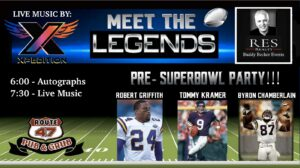 Buddy Becker presents: Meet the Legends & Live Music by Xpedition
