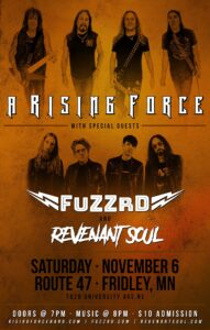 A Rising Force w/ Fuzzrd and Revenant Soul @ Route 47 Pub & Grub